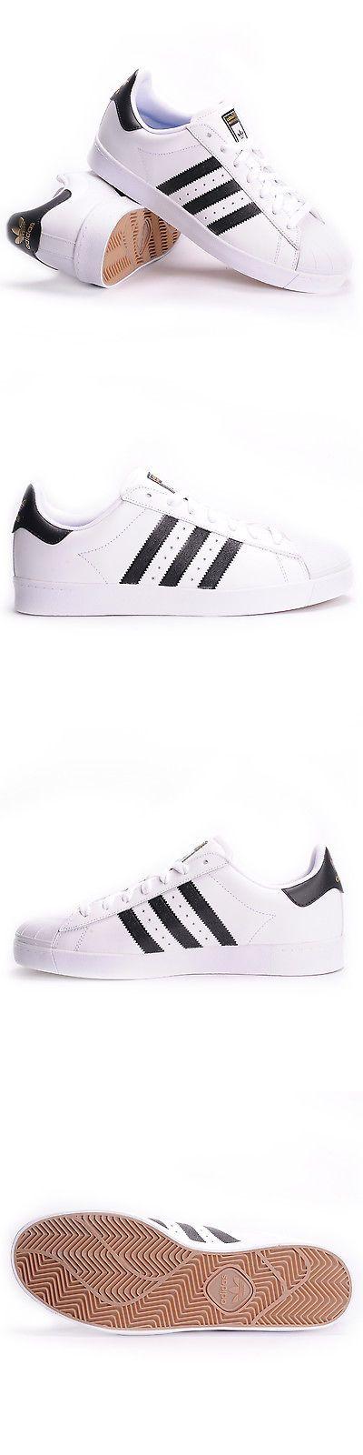 Men Shoes: Adidas Superstar Vulc Adv (White Core Black White) Men S Skate Shoes -> BUY IT NOW ONLY: $59.99 on eBay!