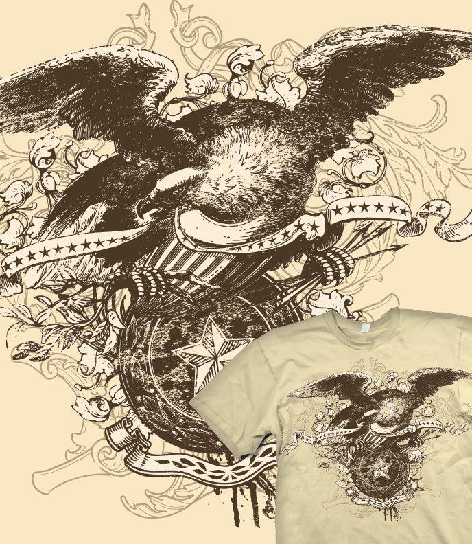 Vintage Eagle Tattoo 115