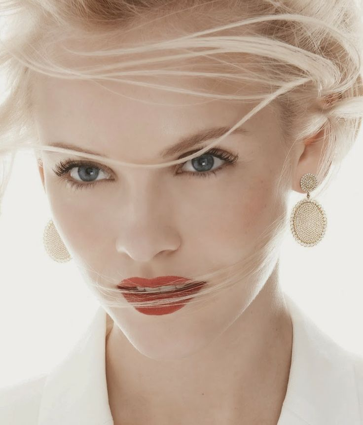 Ginta Lapina's cool style.