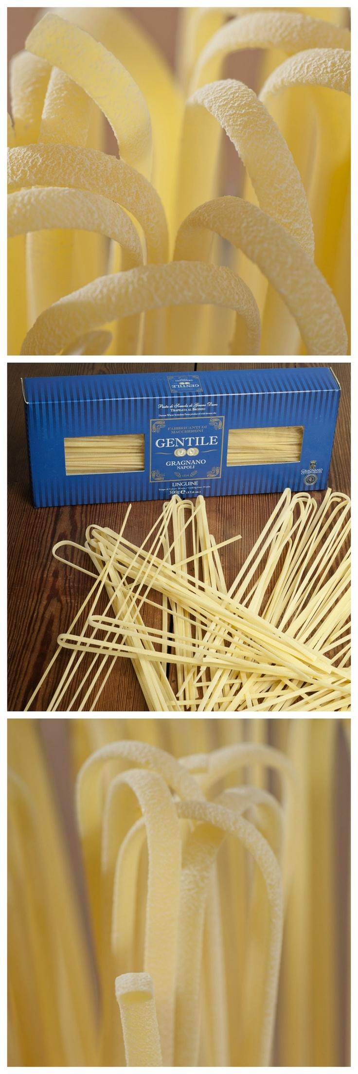 "#Linguine born ""al dente"" - #Pasta #Gentile #Gragnano"