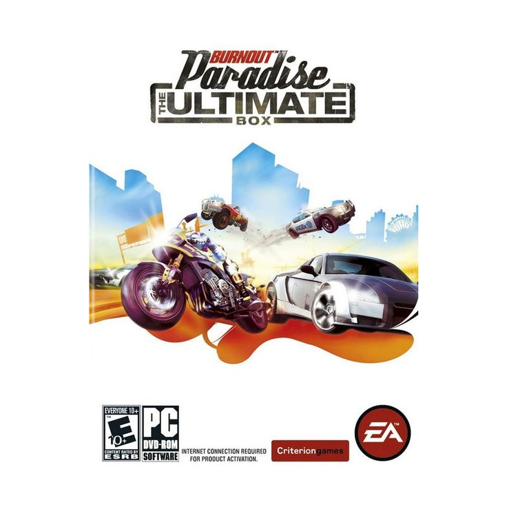 Burnout Paradise: The Ultimate Box Electronic Software Download PC