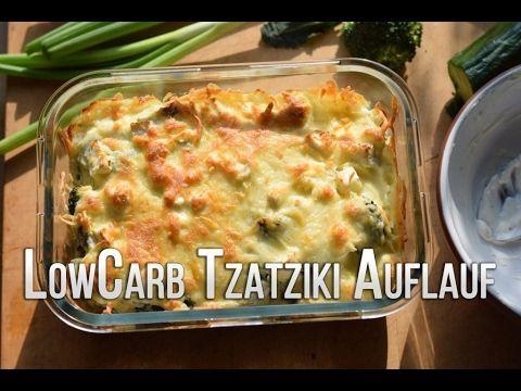 Ultra leckerer Low Carb Tzatziki-Brokkoli-Auflauf!