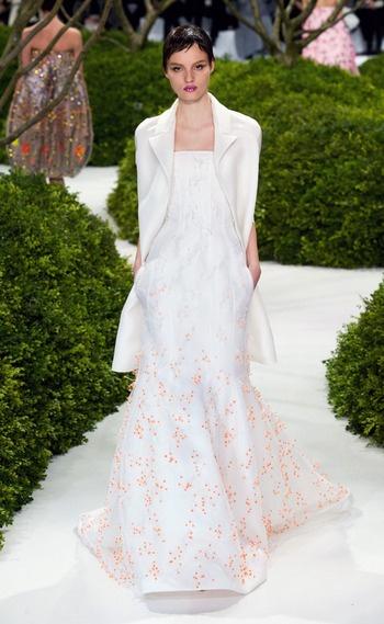 Christian Dior - Alta Costura Primavera Verano 2013