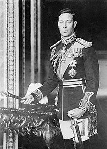 King George VI of England, formal photo portrait, circa 1940-1946.jpg