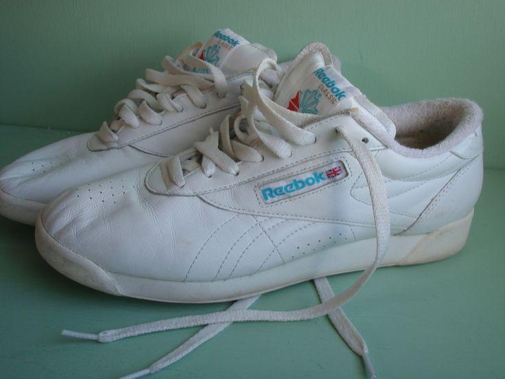a75921653d0a 80s Velcro Tennis Shoes   Gray   Maroon   Men s 8.5 D
