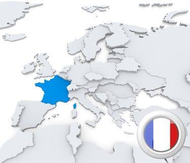 EURODANE - gospodarka Francji , PKB, inflacja, ludność, giełda, finanse, deficyt