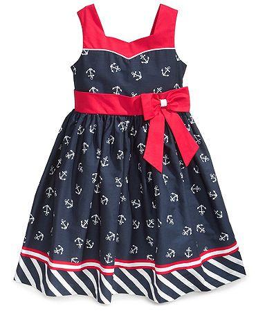Toddler Nautical Dress Jayne Copeland Girls Nautical