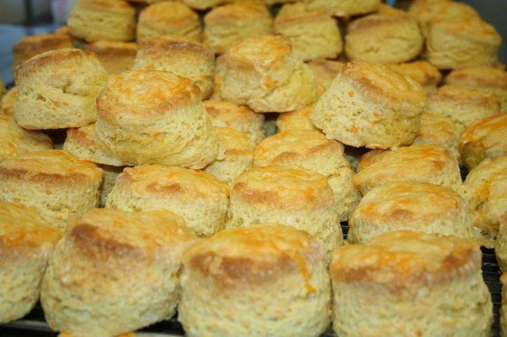 Cheese Scones: 2 cups flour, 3 tsp baking powder, 250g cheddar, 3 tsp veg oil, 125ml milk, 1 egg, chosen seasoning.