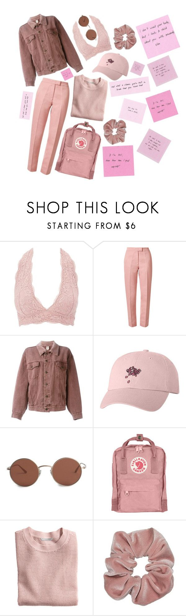 """""""Troye Sivan Merch+The 1975 Lyrics."""" by screamolullabies ❤ liked on Polyvore featuring Charlotte Russe, Orla Kiely, Moschino, The Row, Fjällräven and H&M"""