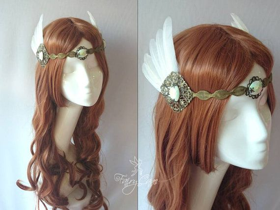 Valkyrie headdress by FairyCaveShop on Etsy