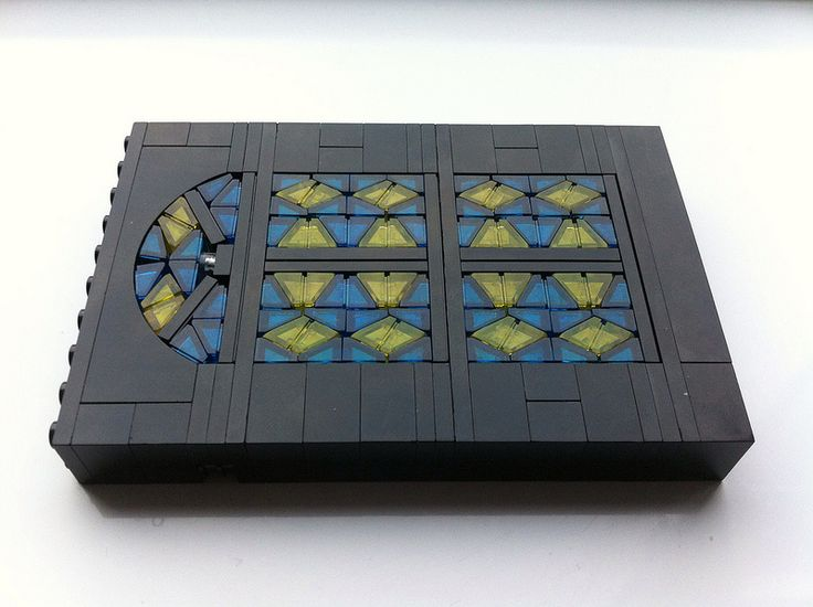Lego stained glass window WIP by Hen Peril | Flickr