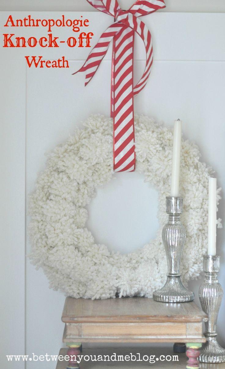 Anthro khock off wreath