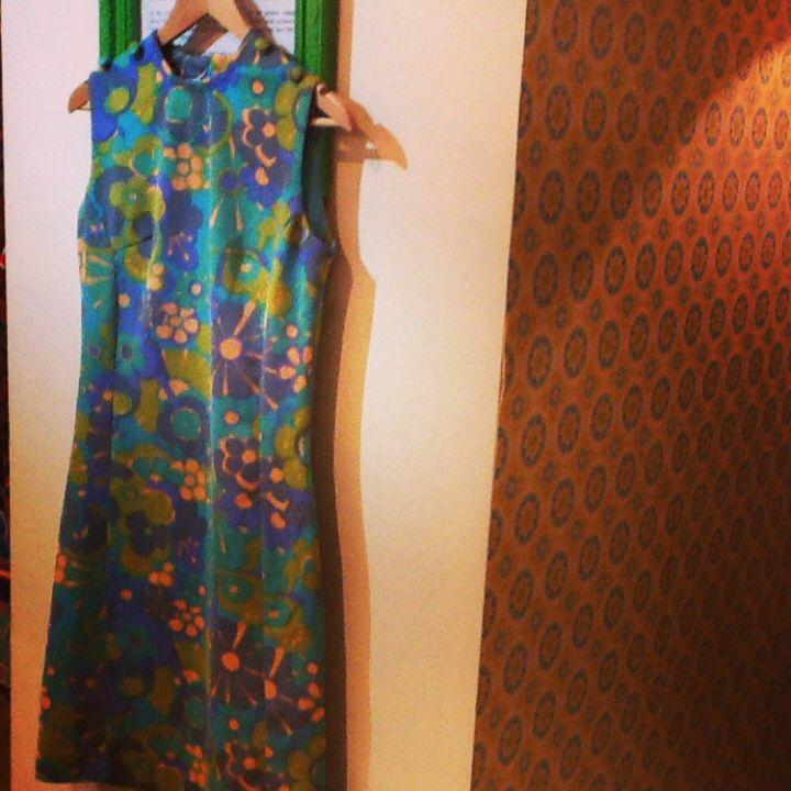Miss Daisy Blue 1960s dress