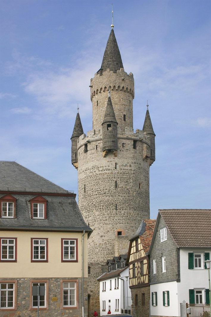 Friedberg, Germany - This tower inspired Brother's Grimm to write Repunzel,