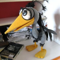 My inspiration for Ugly Duckling puppet