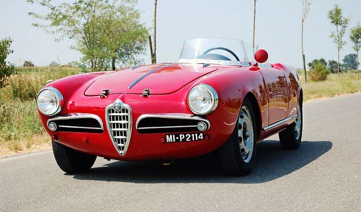 Alfa Romeo Giulietta Sebring 1956