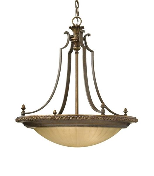 CALEDONIA Chandelier. Traditional gothic inspired lighting collection.