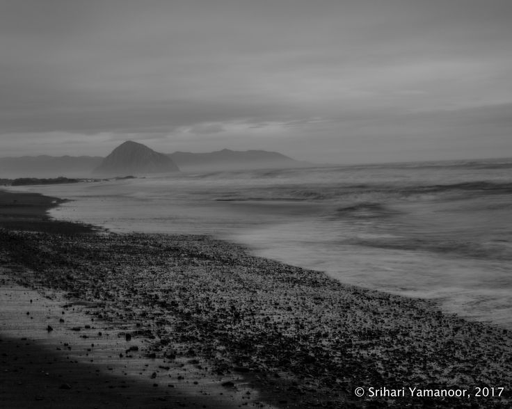 Dreamy - A heavily foggy and cloudy evening at Morro Rock led to some fun opportunities.