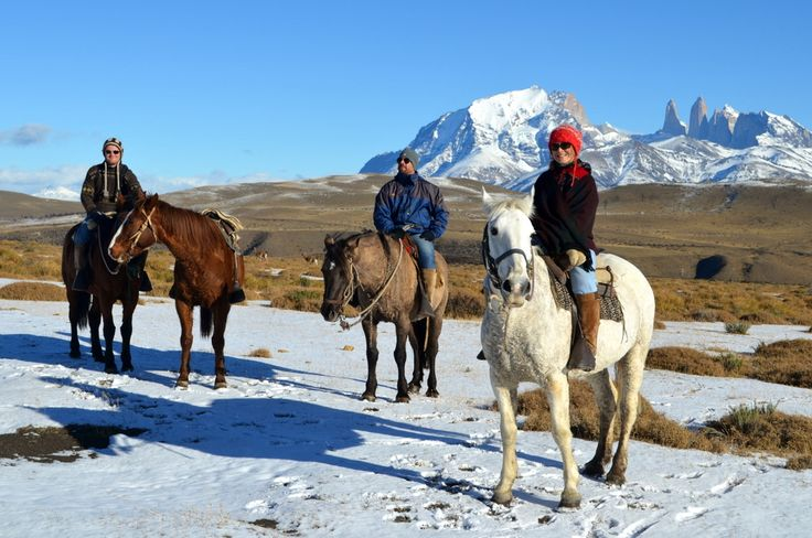 Horseback ride to Torres del Paine National Park