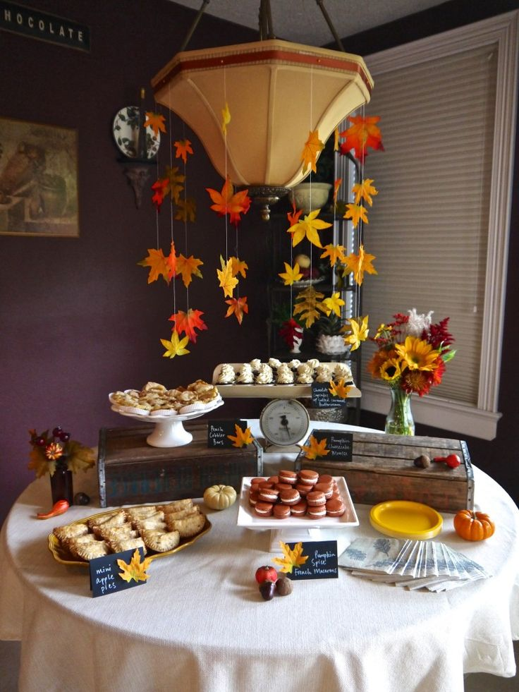 Project Nursery - Fall Themed Baby Shower