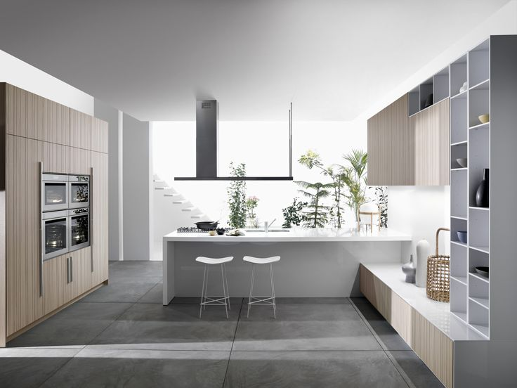 Dwell - Code Natural Kitchen by Snaidero