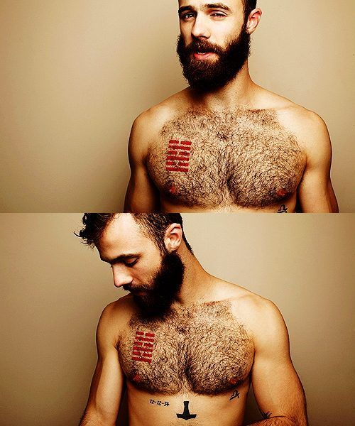 I ching tattoo and thors hammer tat on chest solar plexus for Red beard tattoo