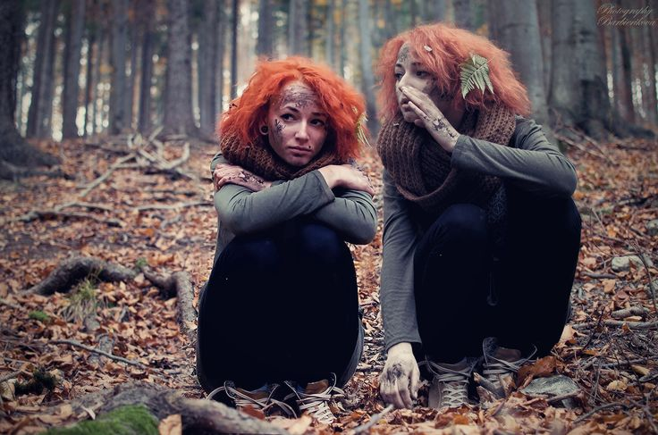 Schyzophrenia Sona Barbierikova Photography Mental Illness Dark Forest Depression Psychic Disease Fine Art Photograph  Schizofrénia  Psychická Porucha Rozdvojenosť Umelecká Fotografia