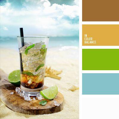 amarillo mostaza, celeste, color azul marino, color coca cola, color cóctel de menta, color fresco, color limonada, color verde lima, color verde menta, color whisky, combinaciones de colores, elección del color, selección de colores para el diseño, verde.