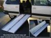 Handicap Portable Wheelchair Ramp aluminum with lip 5 ft