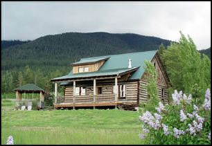 Bigfork Montana Vacation Rentals - Montana Yellow Bay Lodge, Flathead Lake Vacation Rental and Lodging located in the Flathead Valley