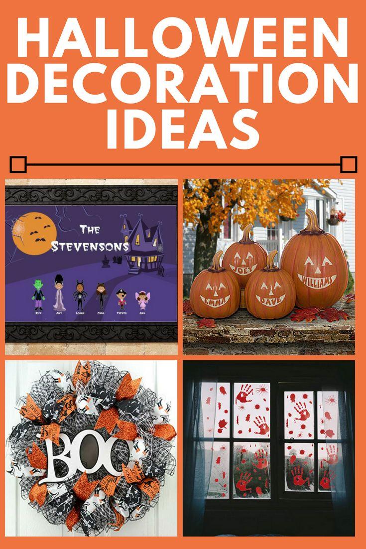 Halloween Decoration Ideas - Fun and Easy Halloween Decorations - cute homemade halloween decorations