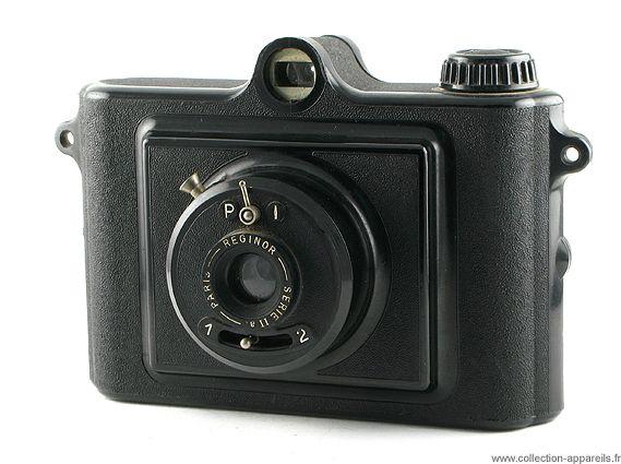 """Miom Rex Un autre nom du Miom 4 x 6,5 cm.  La marque """"Rex"""" fut déposée par la Compagnie Générale d'Electricité, le janvier 1933, au greffe du tribunal de commerce de la Seine (284872), pour une multitude de classes d'objets, dont la photographie."""