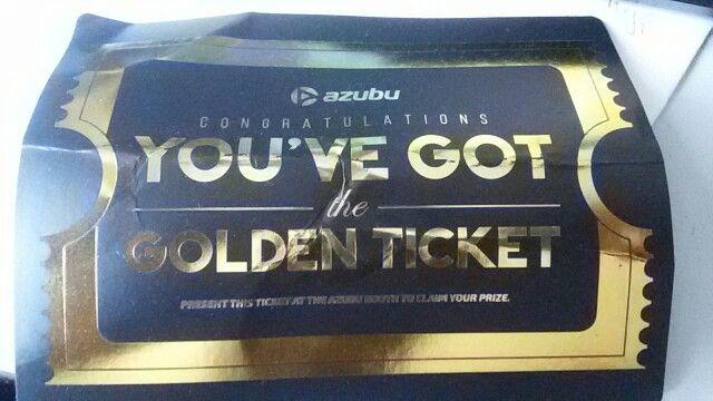 Won golden Tickets Lootcrate 6 Month by Azubu @Gamescom