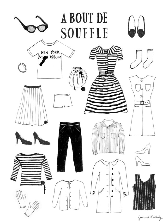 joannaphantasmagoria: DRESS LIKE PATRICIA -- A BOUT DE SOUFFLE