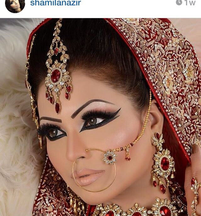 Desi Bridal Wedding Makeup Done By Amazing Artist