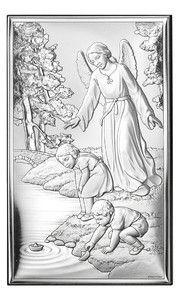 Prezent na chrzest, chrzciny Obrazek Anioł Stróż -(V#18001) Pasaż Handlowy