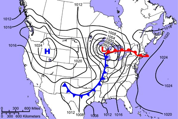 Southeast Regional Climate Center weather map activity
