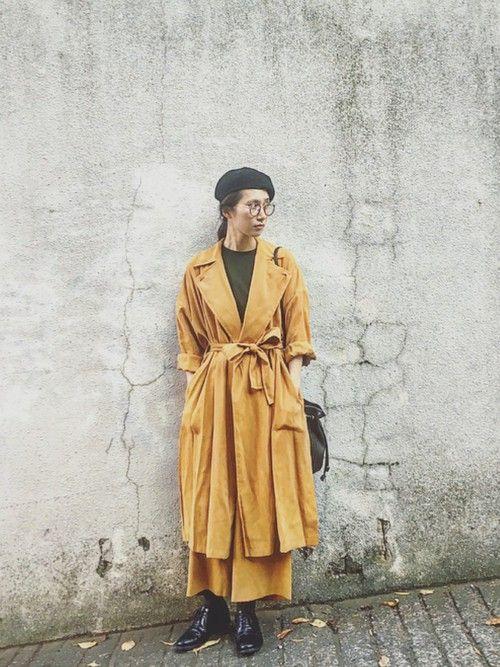 秋冬ファッションは色で遊ぼう!おしゃれ上手さんの色合わせコーディネート見本帳
