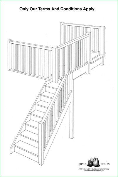 Saffron Staircase - 3D staircase design,