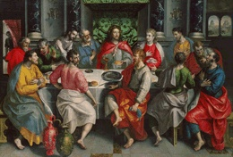Marten de Vos  (1532-1603)  The Last Supper