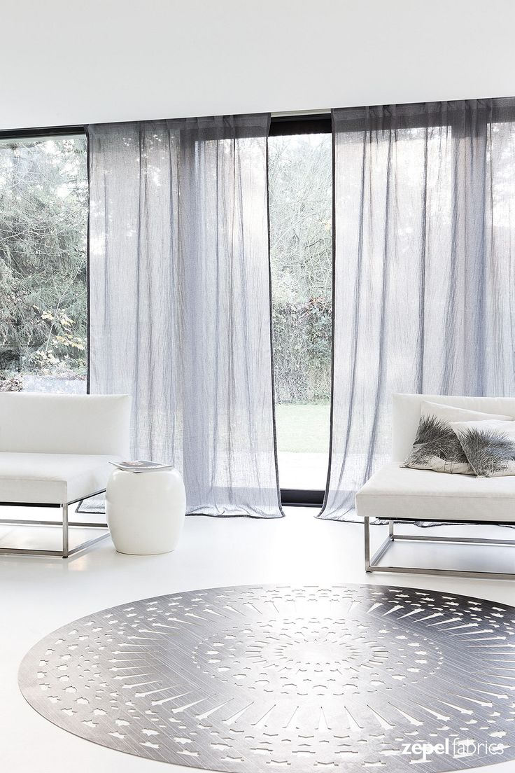 Quiver is a beautiful single width pleated sheer designed to achieve a soft earthy look and feel. With its dynamic pastel tones to your more safe neutral hues, Quiver is both contemporary and elegant in character. www.zepelfabrics.com