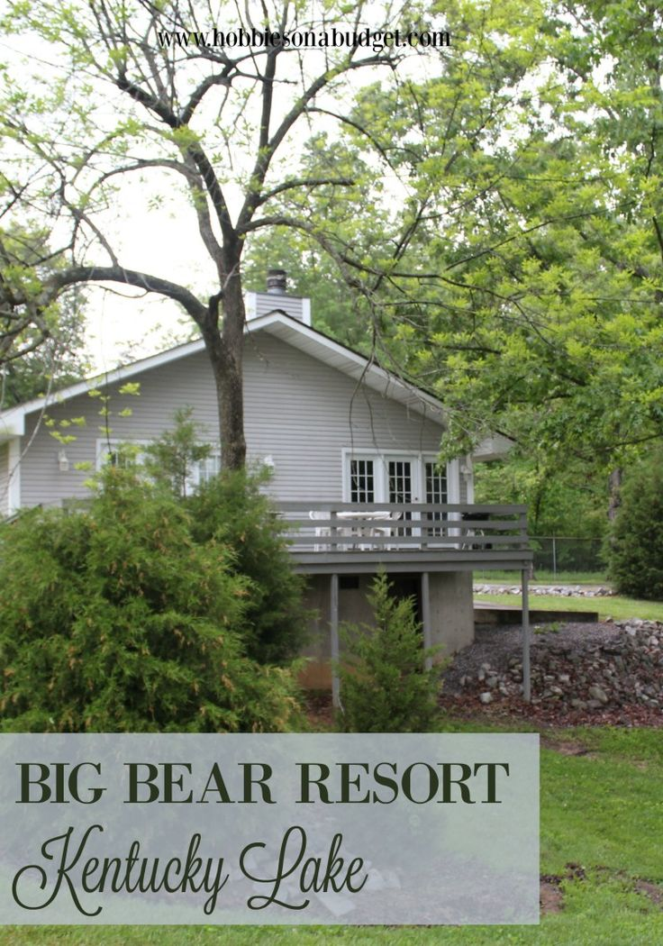 Traveling to Western Kentucky?  Check out Big Bear Resort for your lodging needs!  Perfect for whether you are fishing, on vacation or just looking for a weekend getaway!