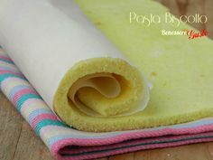 Pasta Biscotto - ricetta senza lievito compatta ed elastica, per golosi ROTOLI FARCITI