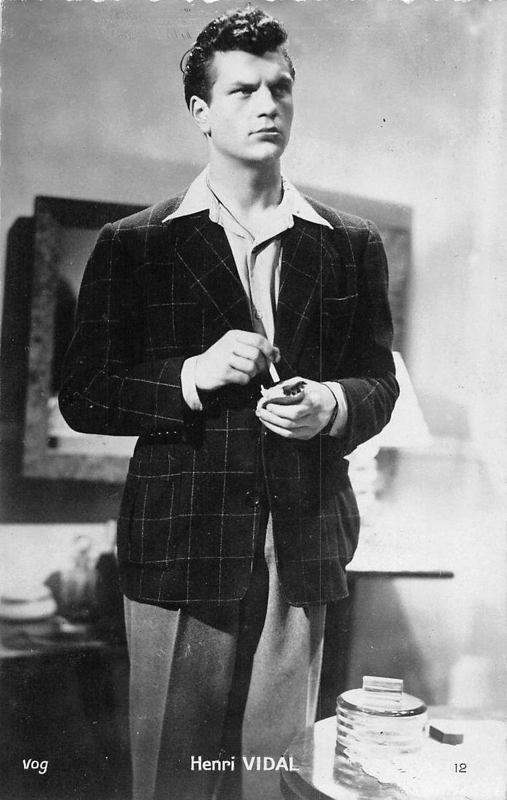 Henri Vidal French Film Actor | eBay