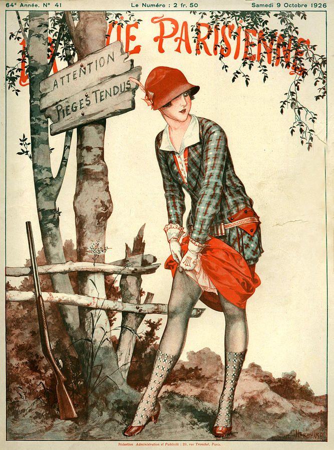La Vie Parisienne - French Magazine - Art & Illustration.