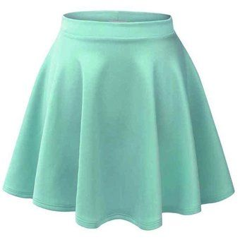 Compra Falda High Waist-Azul Claro online ✓ Encuentra los mejores productos Vestidos Globalomerce en Linio Chile ✓