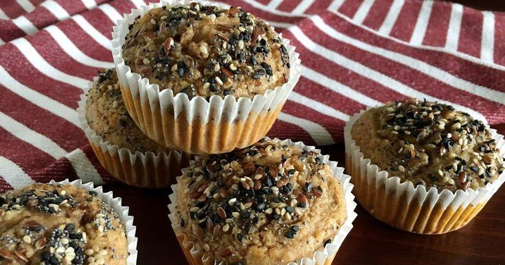 Muffin vegani senza zuccheri aggiunti