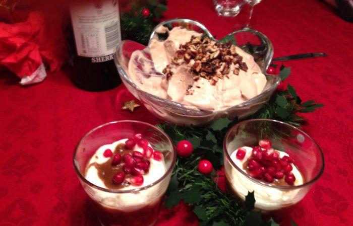Glöggmousse med rostade pekannötter - godaste decemberdesserten