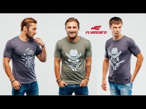 Купить спортивную футболку с логотипом Flyingbro