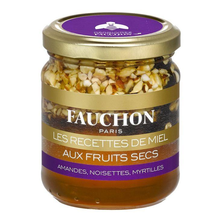 Les recettes de miel aux fruits secs - FAUCHON